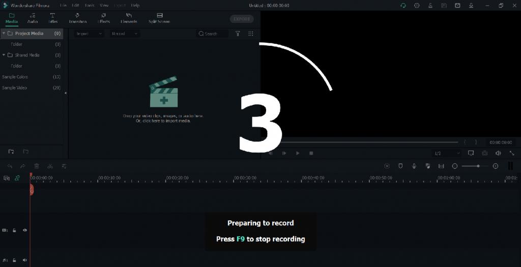 nagrywanie ekranu komputera filmora
